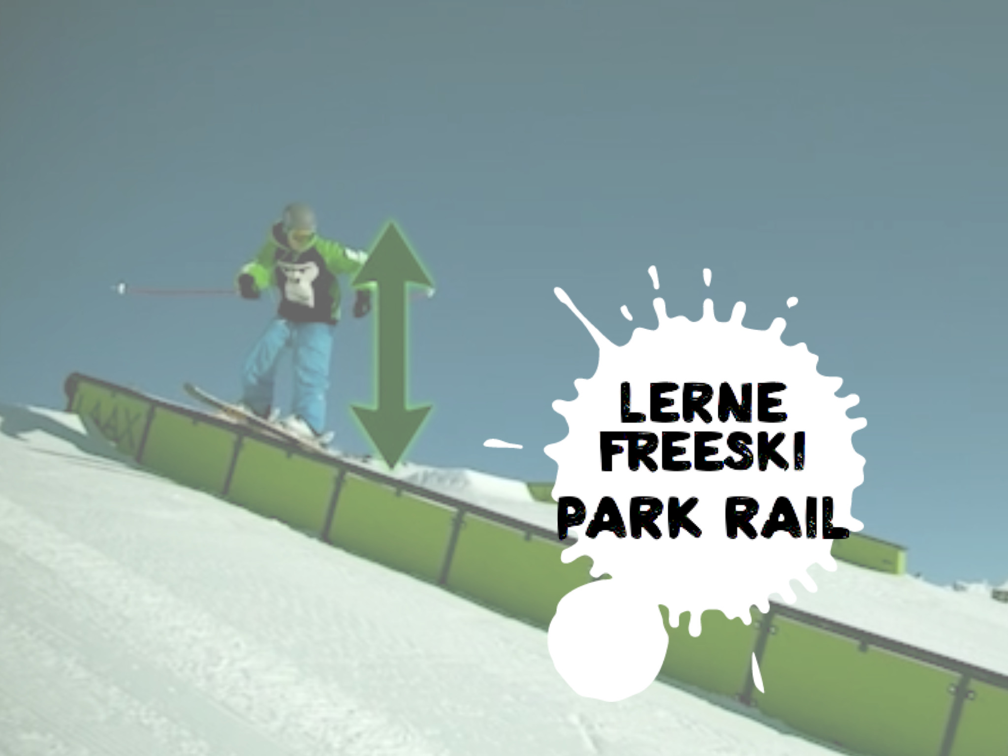 FREESKI BASICS - PARK RAIL