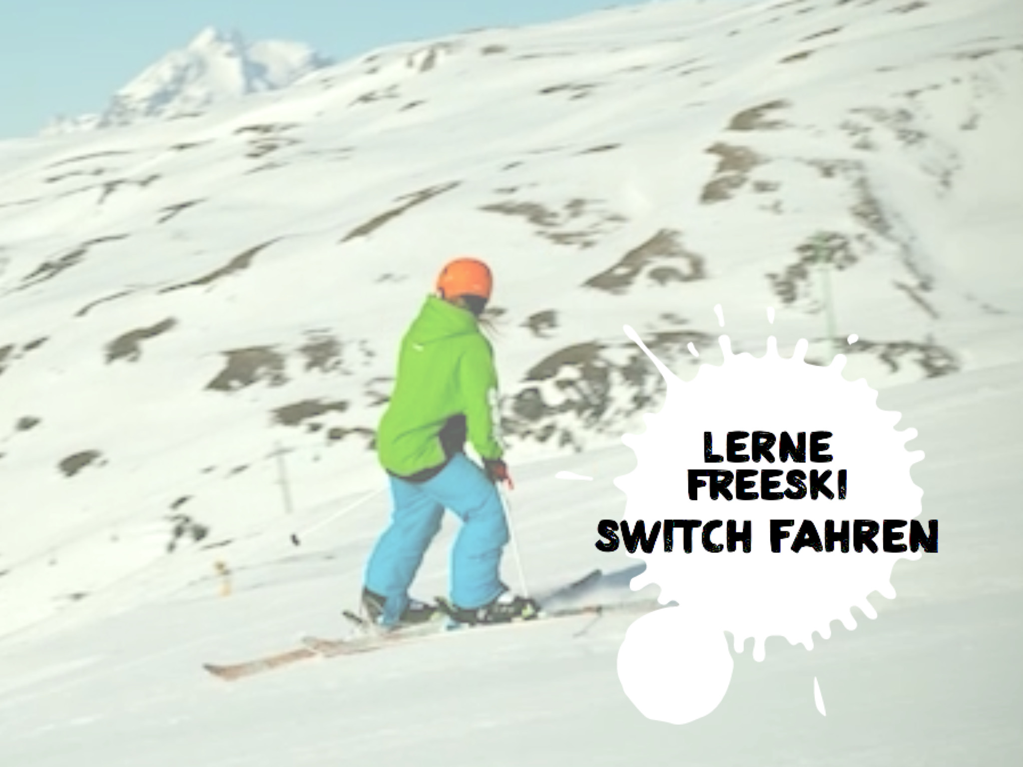 FREESKI BASICS - SWITCH FAHREN