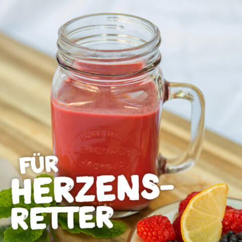 Pink-Roter Spätsommer-Smoothie